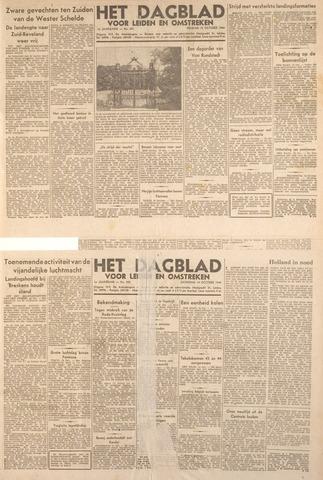 Dagblad voor Leiden en Omstreken 1944-10-14