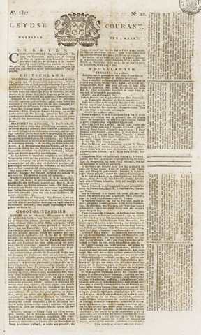 Leydse Courant 1817-03-05