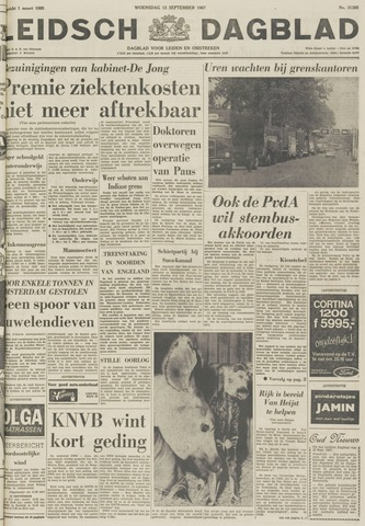 Leidsch Dagblad 1967-09-13