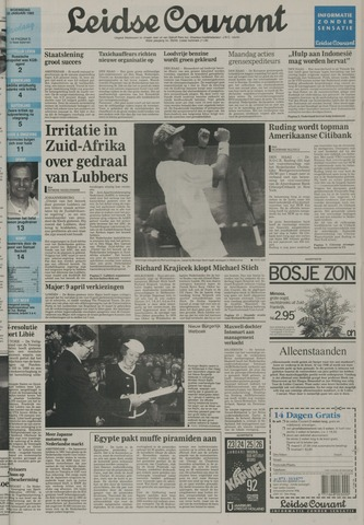 Leidse Courant 1992-01-22