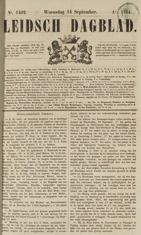 Leidsch Dagblad 1864-09-14