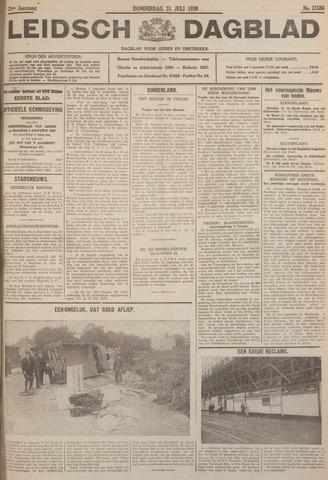 Leidsch Dagblad 1930-07-31