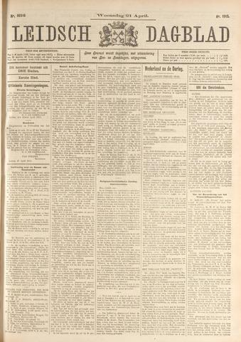 Leidsch Dagblad 1915-04-21
