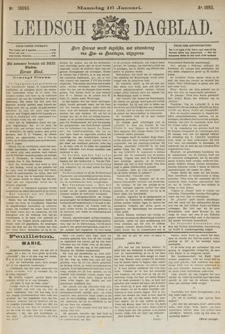 Leidsch Dagblad 1893-01-16