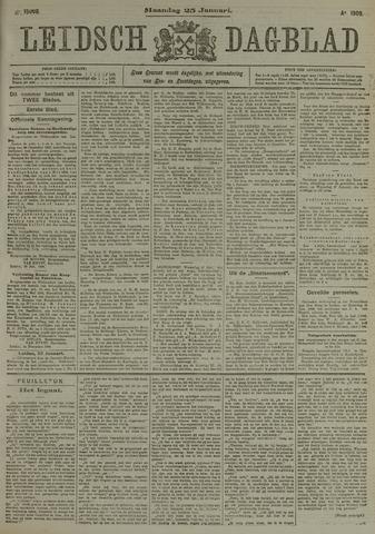 Leidsch Dagblad 1909-01-25