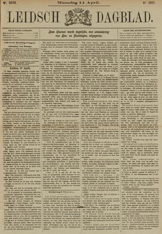 Leidsch Dagblad 1890-04-14