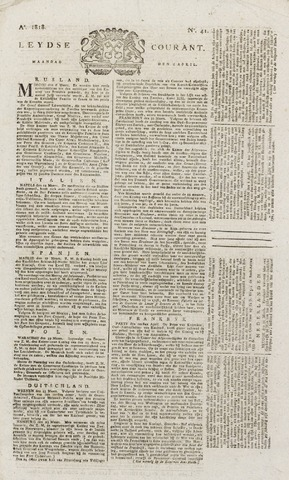 Leydse Courant 1818-04-06