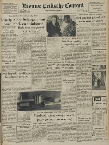 Nieuwe Leidsche Courant 1957-06-26