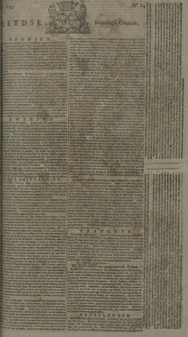 Leydse Courant 1743-02-25