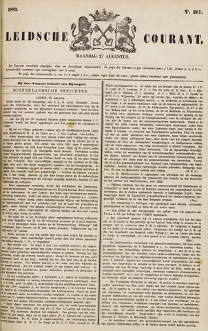 Leydse Courant 1883-08-27