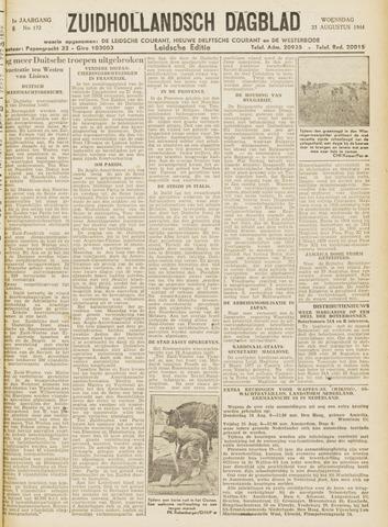 Zuidhollandsch Dagblad 1944-08-23