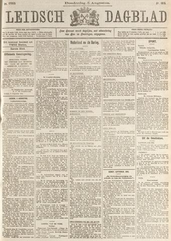 Leidsch Dagblad 1915-08-05