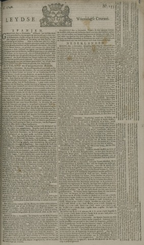 Leydse Courant 1740-12-21