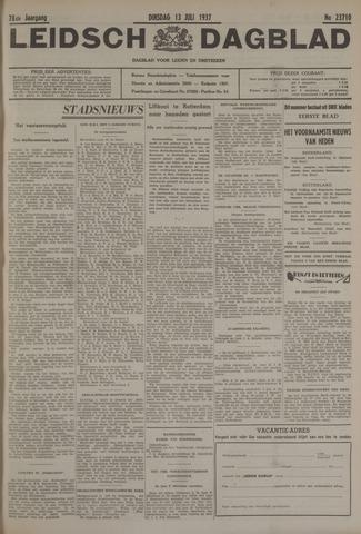 Leidsch Dagblad 1937-07-13