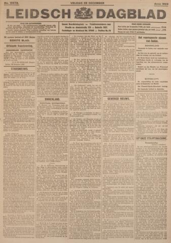 Leidsch Dagblad 1923-12-28