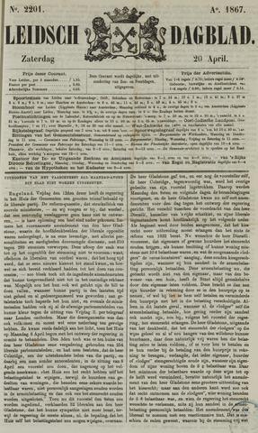 Leidsch Dagblad 1867-04-20