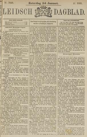 Leidsch Dagblad 1885-01-24