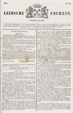 Leydse Courant 1876-03-07