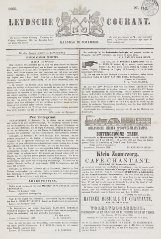 Leydse Courant 1866-11-26