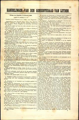 Handelingen van de Raad 1866-02-03