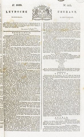 Leydse Courant 1839-09-18