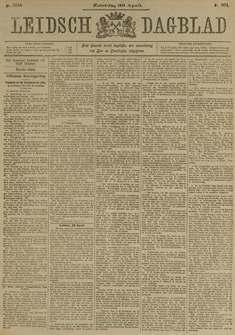 Leidsch Dagblad 1904-04-30
