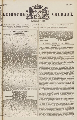 Leydse Courant 1884-05-17