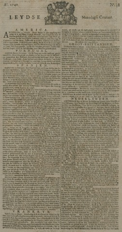 Leydse Courant 1740-03-28