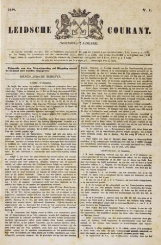 Leydse Courant 1878