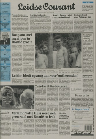Leidse Courant 1992-08-07