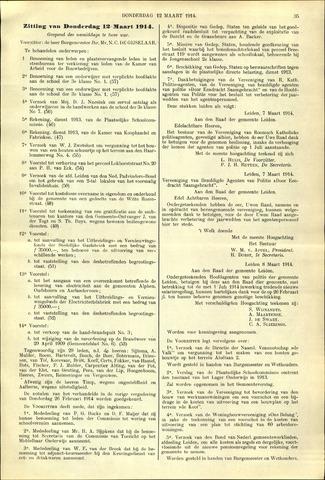 Handelingen van de Raad 1914-03-12