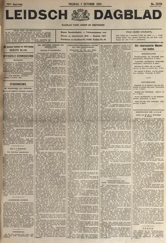 Leidsch Dagblad 1932-10-07