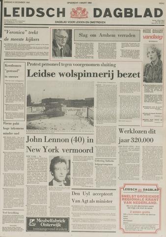 Leidsch Dagblad 1980-12-09