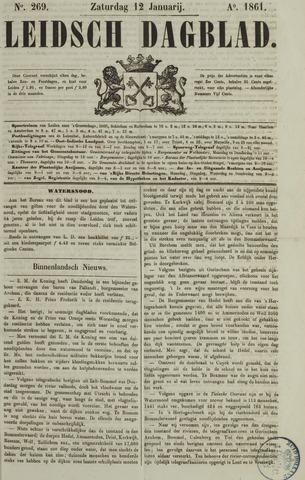 Leidsch Dagblad 1861-01-12