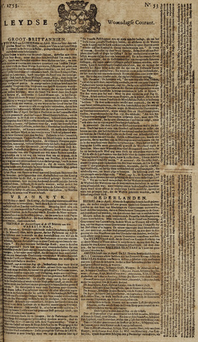 Leydse Courant 1753-05-02
