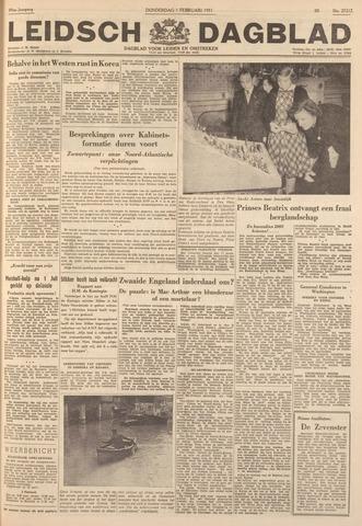 Leidsch Dagblad 1951-02-01