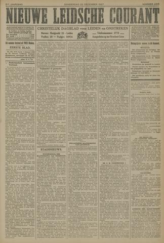 Nieuwe Leidsche Courant 1927-12-22