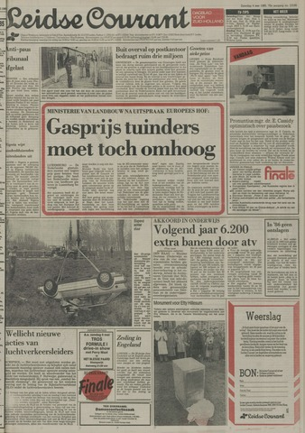 Leidse Courant 1985-05-04