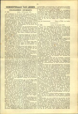 Handelingen van de Raad 1911-11-16
