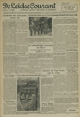 Leidse Courant 1952-07-01