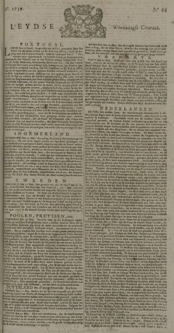 Leydse Courant 1739-06-03
