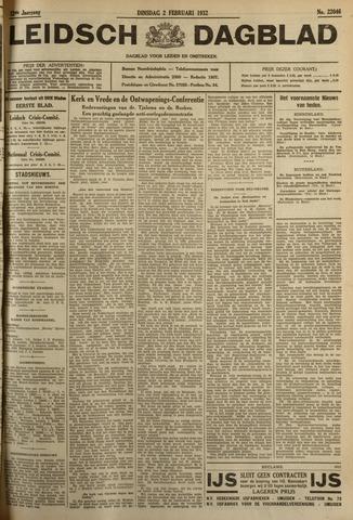 Leidsch Dagblad 1932-02-02