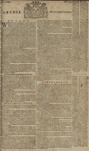 Leydse Courant 1765-11-27