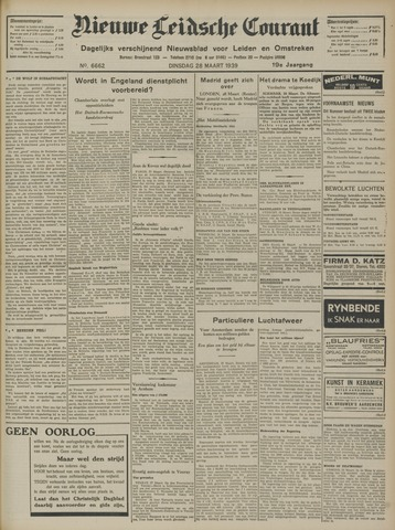 Nieuwe Leidsche Courant 1939-03-28