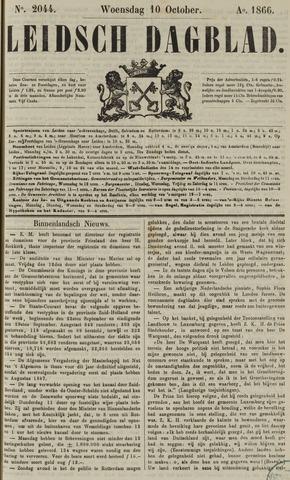 Leidsch Dagblad 1866-10-10