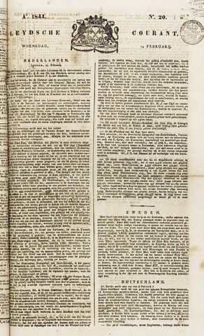 Leydse Courant 1844-02-14