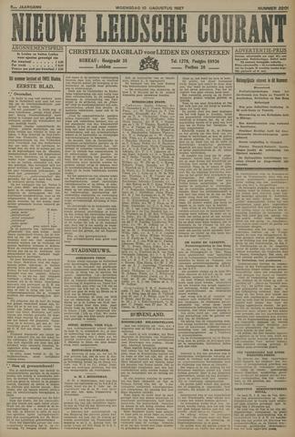 Nieuwe Leidsche Courant 1927-08-10