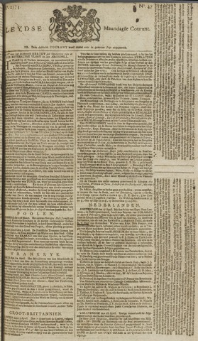 Leydse Courant 1773-04-19