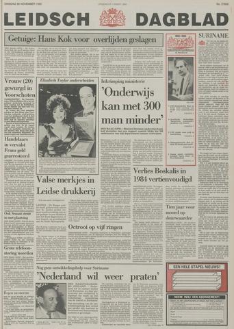 Leidsch Dagblad 1985-11-26