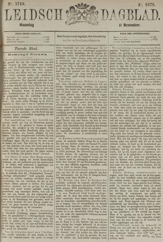 Leidsch Dagblad 1878-11-11